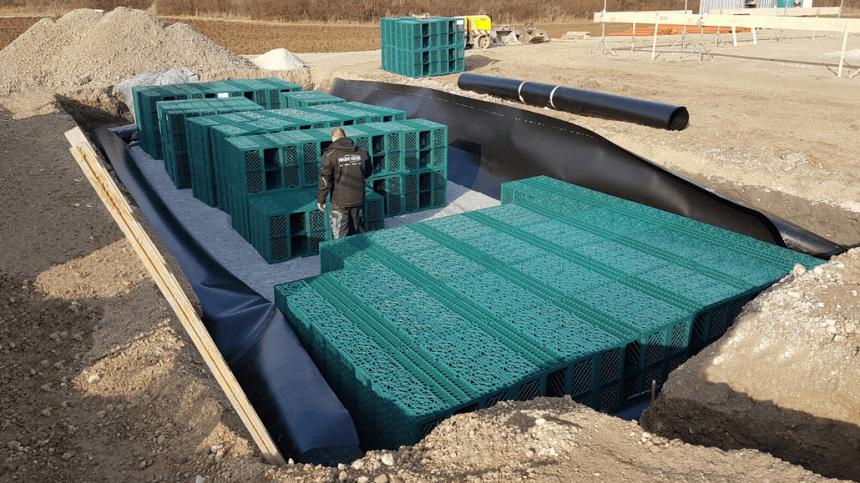 RigoCollect Regenwasserrückhaltung
